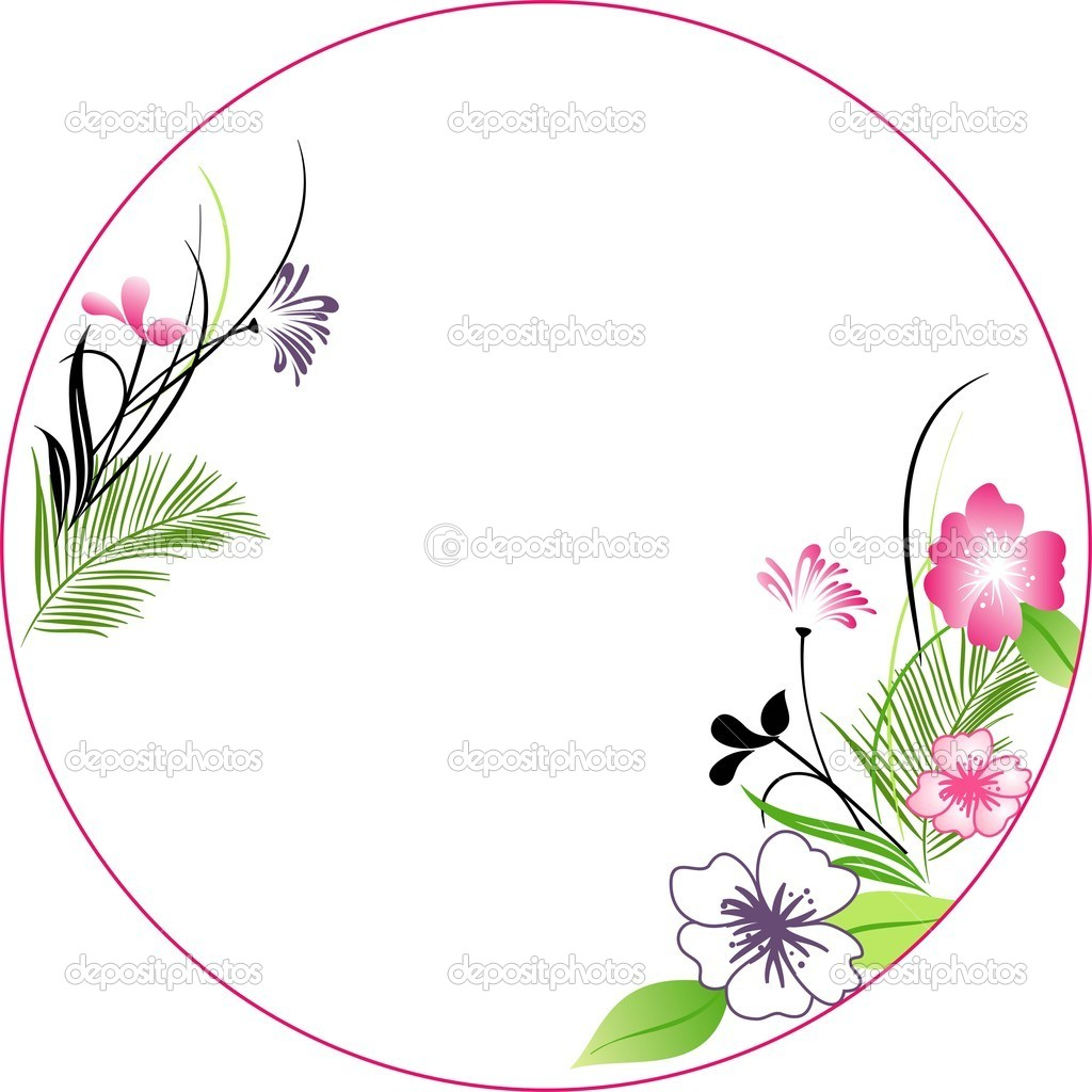 Flowers on a white background, floral greeting card,spring flowers — Stock Vector #9424262