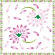 Stok Vektör: Floral background