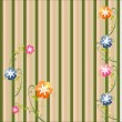 Floral background, — Stock Vector #9728350