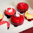 Valentines Cupcakes — Stock Photo #9325274