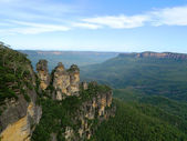 Three Sisters, Blue Mountains — Stock Photo