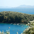 Landscape of the island of Corfu, Greece — Stock Photo #10234847