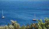 Landscape of the island of Corfu, Greece — Stock Photo