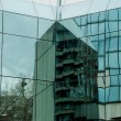 Modern glass building in Macedonia. — Stock Photo