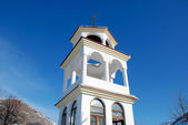 Bell tower of church in Macedonia — Stock Photo