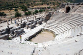 Amphitheater in Ephesus,Izmir, Turkey, Asia — Stock Photo
