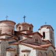 Basilica  founded by Kliment Ohridski, Saint Panteleimon — Stock Photo