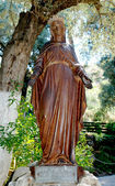 Statue of Virgin Mary — Stock Photo