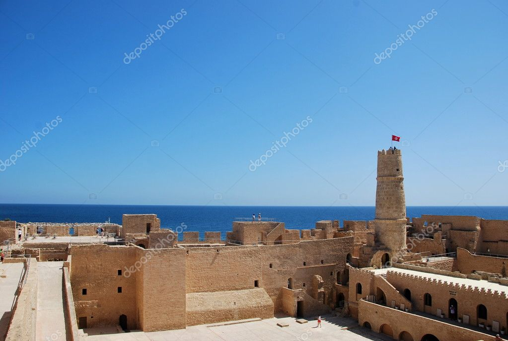 Ribat in Monastir, Tunisia — Stock Photo #9247326