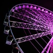 Stock Photo: Purple wheel