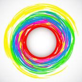 Abstract circles. — Stock Vector