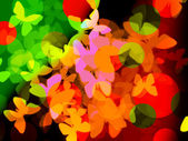 Abstract color backgrounds — Stock Photo