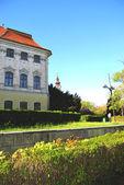 Baroque palace — Stock Photo