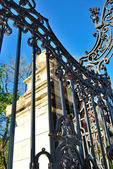 Details of baroque gate — Stock Photo