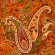 Royalty-Free Stock Vector Image: Seamless Paisley Pattern