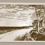 Постер, плакат: Beach Postcard