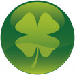 Shamrock icon - Vector file — Stock Vector