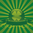 St. Patrick's Day Vector Background 01 — Stock Vector
