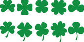 Shamrocks — Stockvector