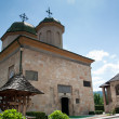 Romanian orthodox monastery — Stock Photo
