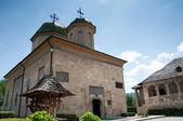 Romanian orthodox monastery — Stock Photo