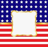 Cadre patriotique — Vecteur