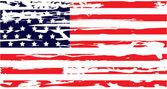 Escova seca bandeira americana — Vetorial Stock