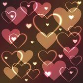 Plasma hjärtan — Stockfoto