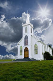 Church & Clouds — Stock Photo