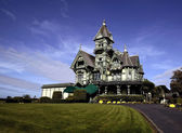 Carson Mansion — Stock Photo