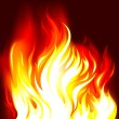 Fire Flames Background - Imagen vectorial