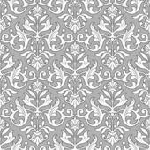 Classic floral pattern - seamless wallpaper — Stock Vector