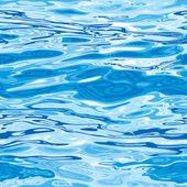 Naadloze water oppervlaktepatroon — Stockvector