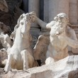 Trevi Fountain Statue — Stock Photo