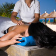 Paradise Massage — Stock Photo