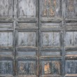 Fifteenth Century Wooden Door — Stock Photo
