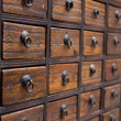 Stock Photo: Antique Chinese Medicine Chest