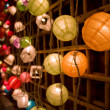 Colorful Paper Lanterns — Stock Photo