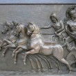 Stock Photo: Achillion Palace Bronze Relief