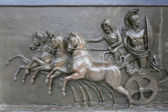 Achillion Palace Bronze Relief — Stock Photo