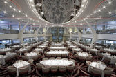 Cruise Ship Dining Room — Stock Photo