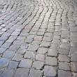 Roman Cobblestone Street — Stock Photo