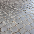 Stock Photo: RomCobblestone Street