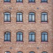 Venetian Factory Windows — Stock Photo