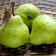 Group Of Whole Fresh Pears — Zdjęcie stockowe #9408346