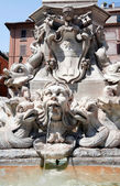 Pantheon Fountain — Stock Photo