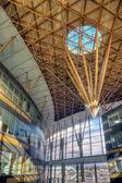 Futuristic Technical Building Interior — Stock Photo