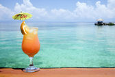 Tropical Drink Paradise — Stock Photo