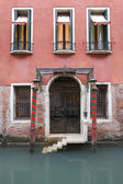 An Old Venetian Hotel — Stock Photo