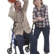 Disabled basketball player — Stock Photo #9309002